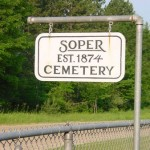 Soper Cemetery, Colfax Township, Wexford County Michigan – Burdick