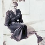 Jane on porch